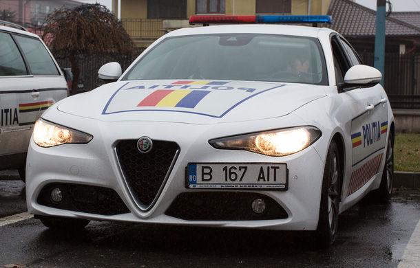 Poliția Rutieră Constanța a primit un Alfa Romeo Giulia: sedanul producătorului italian va fi utlizat timp de 12 luni în misiuni de patrulare - Poza 1