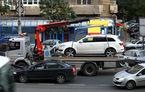 Primăria Capitalei vrea să ridice mașinile parcate neregulamentar: proprietarii vor plăti cel puțin 500 de lei pentru recuperarea lor
