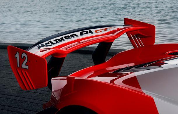McLaren a prezentat un P1 GTR inspirat de monopostul lui Ayrton Senna din 1988: versiunea unicat primește modificări de design consistente - Poza 5
