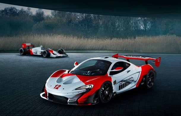 McLaren a prezentat un P1 GTR inspirat de monopostul lui Ayrton Senna din 1988: versiunea unicat primește modificări de design consistente - Poza 2