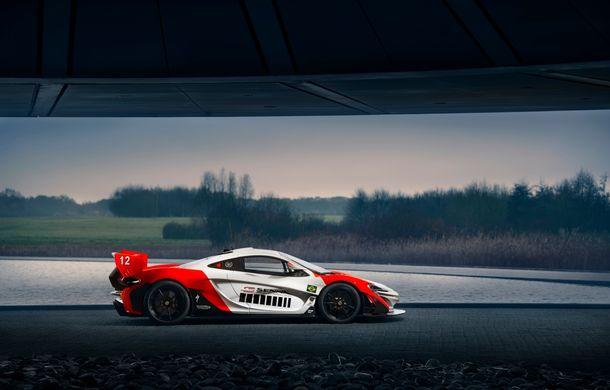 McLaren a prezentat un P1 GTR inspirat de monopostul lui Ayrton Senna din 1988: versiunea unicat primește modificări de design consistente - Poza 4