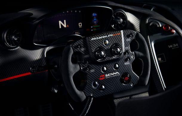 McLaren a prezentat un P1 GTR inspirat de monopostul lui Ayrton Senna din 1988: versiunea unicat primește modificări de design consistente - Poza 6