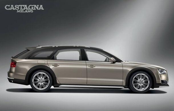 Transformare inedită: Audi A8 devine break Allroad în mâinile carosierilor de la Castagna Milano - Poza 1