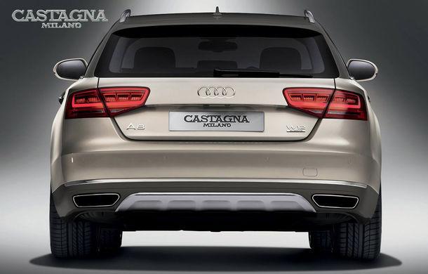 Transformare inedită: Audi A8 devine break Allroad în mâinile carosierilor de la Castagna Milano - Poza 2