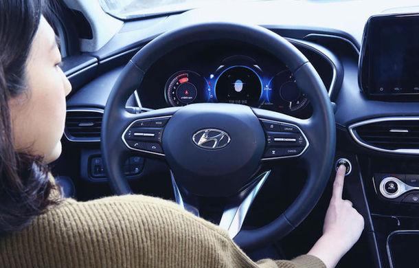 Hyundai Santa Fe va putea fi pornit cu amprenta: opțiunea, disponibilă inițial doar în China - Poza 1