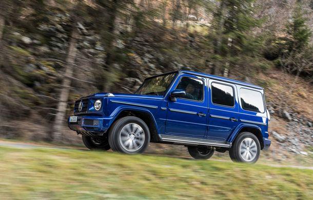 Mercedes-Benz Clasa G primește o motorizare diesel: propulsor de 3.0 litri cu șase cilindri în linie de 286 CP - Poza 16