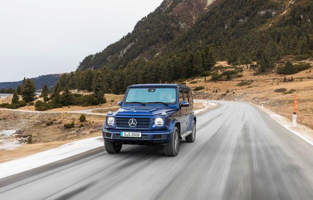 Mercedes-Benz Clasa G primește o motorizare diesel: propulsor de 3.0 litri cu șase cilindri în linie de 286 CP - Poza 19