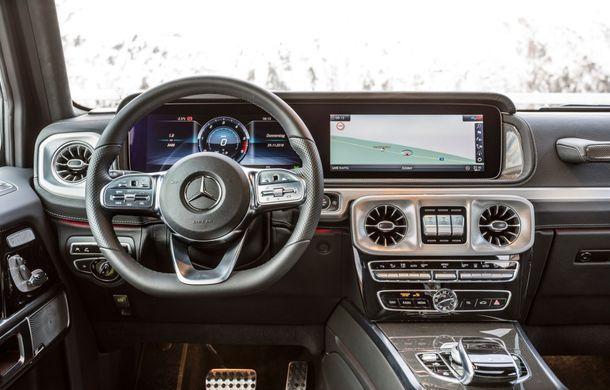 Mercedes-Benz Clasa G primește o motorizare diesel: propulsor de 3.0 litri cu șase cilindri în linie de 286 CP - Poza 39
