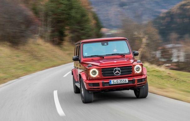 Mercedes-Benz Clasa G primește o motorizare diesel: propulsor de 3.0 litri cu șase cilindri în linie de 286 CP - Poza 38