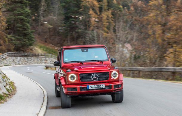 Mercedes-Benz Clasa G primește o motorizare diesel: propulsor de 3.0 litri cu șase cilindri în linie de 286 CP - Poza 37