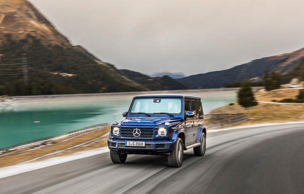 Mercedes-Benz Clasa G primește o motorizare diesel: propulsor de 3.0 litri cu șase cilindri în linie de 286 CP - Poza 20