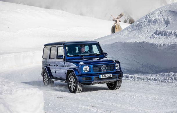 Mercedes-Benz Clasa G primește o motorizare diesel: propulsor de 3.0 litri cu șase cilindri în linie de 286 CP - Poza 3