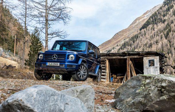 Mercedes-Benz Clasa G primește o motorizare diesel: propulsor de 3.0 litri cu șase cilindri în linie de 286 CP - Poza 15
