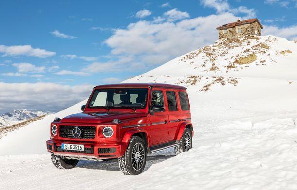 Mercedes-Benz Clasa G primește o motorizare diesel: propulsor de 3.0 litri cu șase cilindri în linie de 286 CP - Poza 28