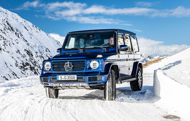 Mercedes-Benz Clasa G primește o motorizare diesel: propulsor de 3.0 litri cu șase cilindri în linie de 286 CP - Poza 1