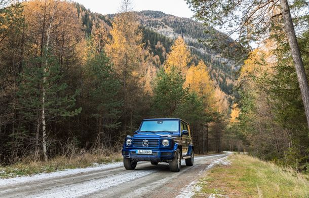 Mercedes-Benz Clasa G primește o motorizare diesel: propulsor de 3.0 litri cu șase cilindri în linie de 286 CP - Poza 17