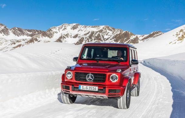 Mercedes-Benz Clasa G primește o motorizare diesel: propulsor de 3.0 litri cu șase cilindri în linie de 286 CP - Poza 25