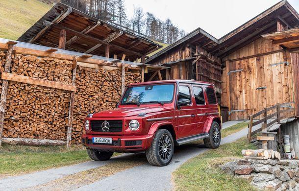Mercedes-Benz Clasa G primește o motorizare diesel: propulsor de 3.0 litri cu șase cilindri în linie de 286 CP - Poza 31