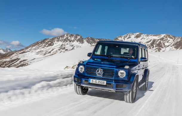 Mercedes-Benz Clasa G primește o motorizare diesel: propulsor de 3.0 litri cu șase cilindri în linie de 286 CP - Poza 4
