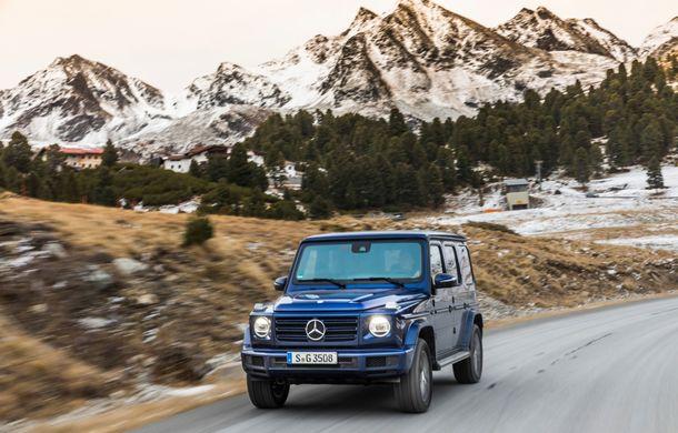 Mercedes-Benz Clasa G primește o motorizare diesel: propulsor de 3.0 litri cu șase cilindri în linie de 286 CP - Poza 21