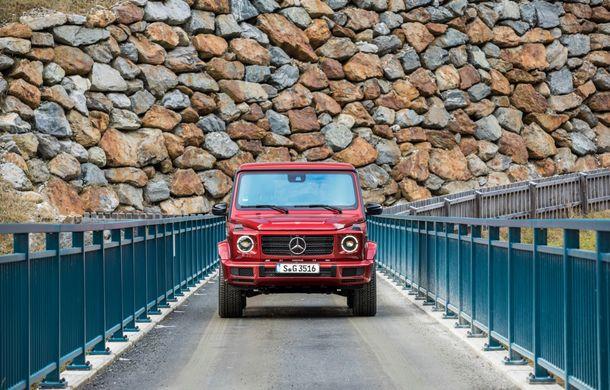 Mercedes-Benz Clasa G primește o motorizare diesel: propulsor de 3.0 litri cu șase cilindri în linie de 286 CP - Poza 32