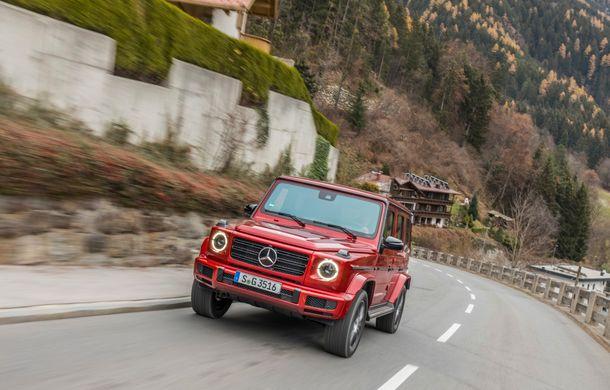 Mercedes-Benz Clasa G primește o motorizare diesel: propulsor de 3.0 litri cu șase cilindri în linie de 286 CP - Poza 36