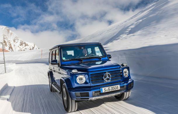 Mercedes-Benz Clasa G primește o motorizare diesel: propulsor de 3.0 litri cu șase cilindri în linie de 286 CP - Poza 5