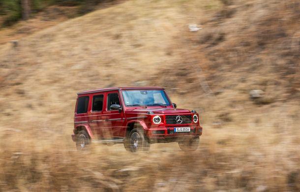 Mercedes-Benz Clasa G primește o motorizare diesel: propulsor de 3.0 litri cu șase cilindri în linie de 286 CP - Poza 34