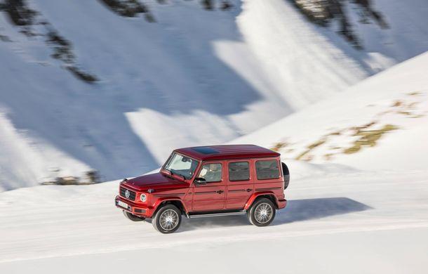 Mercedes-Benz Clasa G primește o motorizare diesel: propulsor de 3.0 litri cu șase cilindri în linie de 286 CP - Poza 22