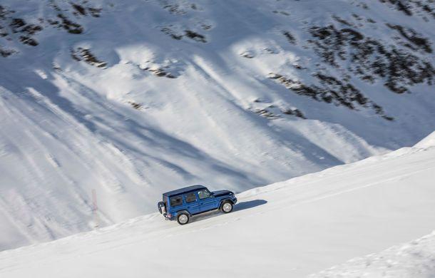 Mercedes-Benz Clasa G primește o motorizare diesel: propulsor de 3.0 litri cu șase cilindri în linie de 286 CP - Poza 12