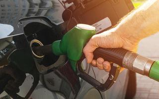 Prețurile la carburanți cresc cu circa 10 bani pe litru de la 1 ianuarie