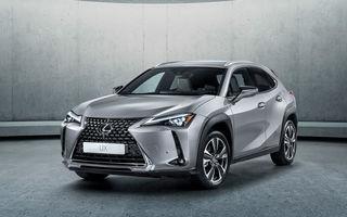 Lexus plănuiește o versiune electrică pentru SUV-ul UX: japonezii au înregistrat denumirea UX300e
