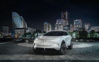 Infiniti QX Inspiration: conceptul unui crossover electric va fi prezentat pe 14 ianuarie, la Detroit