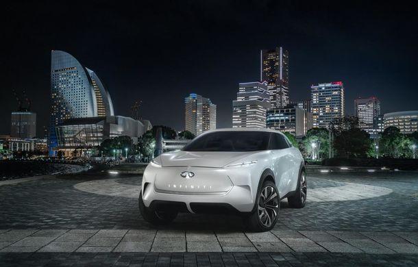 Infiniti QX Inspiration: conceptul unui crossover electric va fi prezentat pe 14 ianuarie, la Detroit - Poza 1