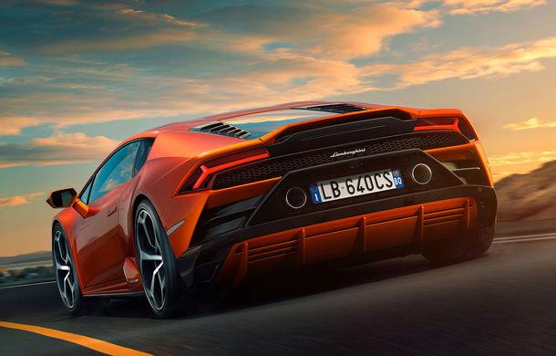 Lamborghini Huracan Evo, imagini și detalii oficiale: supercar-ul italienilor are direcție integrală și motor V10 de 640 CP - Poza 3