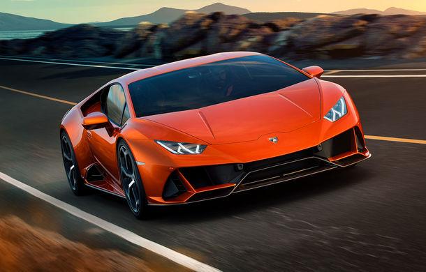 Lamborghini Huracan Evo, imagini și detalii oficiale: supercar-ul italienilor are direcție integrală și motor V10 de 640 CP - Poza 1