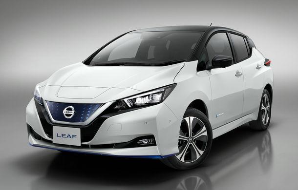 Nissan Leaf e+ Limited Edition: noua versiune are motor de 217 CP și autonomie de 385 km, dar este limitată la 5.000 de unități - Poza 2
