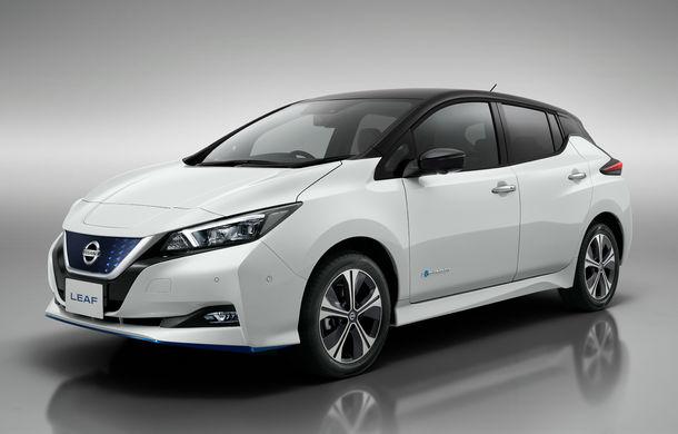 Nissan Leaf e+ Limited Edition: noua versiune are motor de 217 CP și autonomie de 385 km, dar este limitată la 5.000 de unități - Poza 1