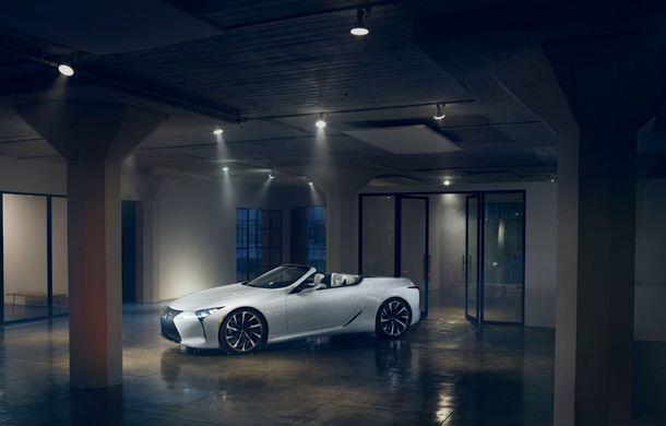 Primele imagini cu Lexus LC Convertible Concept: prototipul niponilor va fi expus la Detroit și anunță o versiune de serie - Poza 4