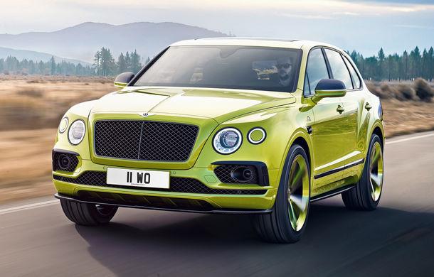 Detalii despre viitorul Bentley Bentayga Speed: SUV-ul de performanță debutează în prima parte a anului și promite peste 600 CP - Poza 1