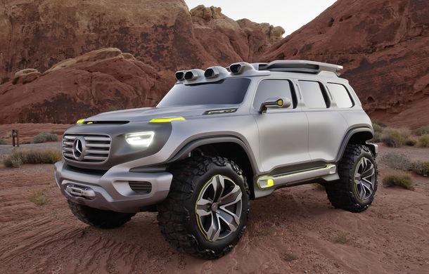Mercedes-Benz GLB va fi prezentat în cursul acestui an: noul SUV va avea și o versiune electrică EQB - Poza 1