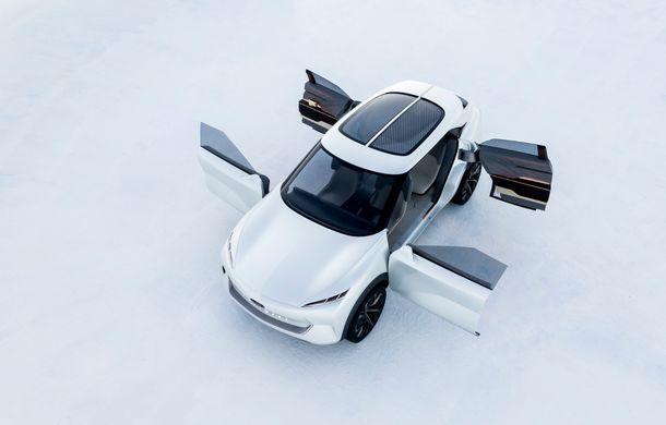 Noi imagini oficiale cu Infiniti QX Inspiration: conceptul prefigurează lansarea unui crossover electric - Poza 10