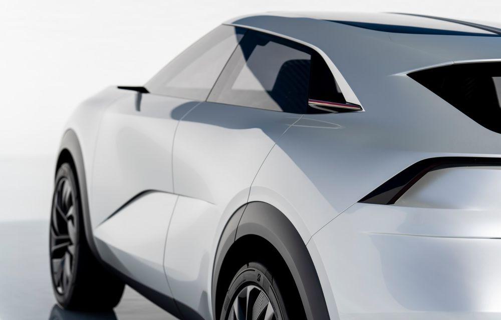 Noi imagini oficiale cu Infiniti QX Inspiration: conceptul prefigurează lansarea unui crossover electric - Poza 25
