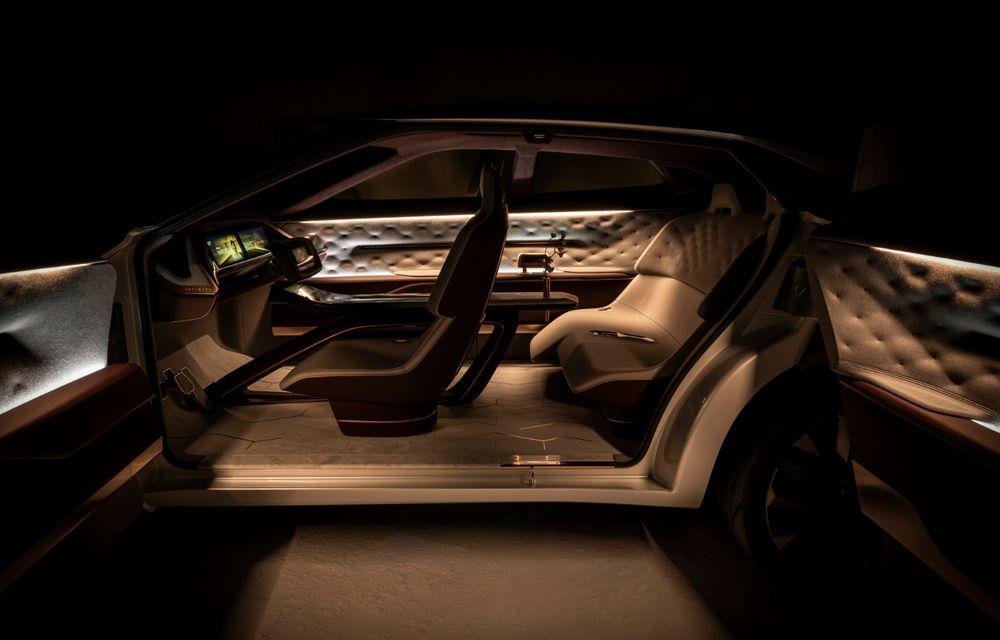 Noi imagini oficiale cu Infiniti QX Inspiration: conceptul prefigurează lansarea unui crossover electric - Poza 14