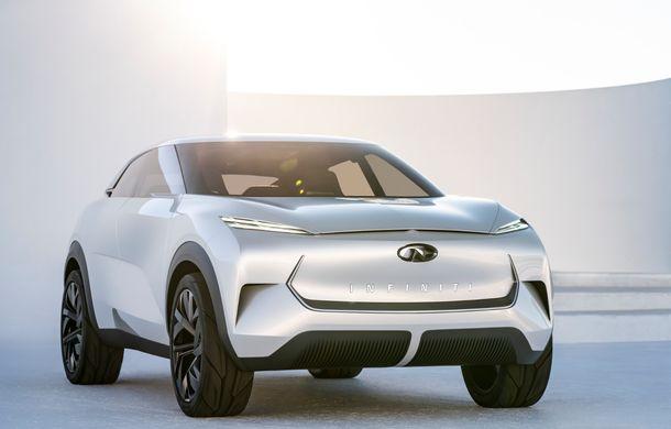 Noi imagini oficiale cu Infiniti QX Inspiration: conceptul prefigurează lansarea unui crossover electric - Poza 4