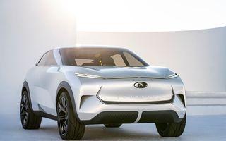 Noi imagini oficiale cu Infiniti QX Inspiration: conceptul prefigurează lansarea unui crossover electric