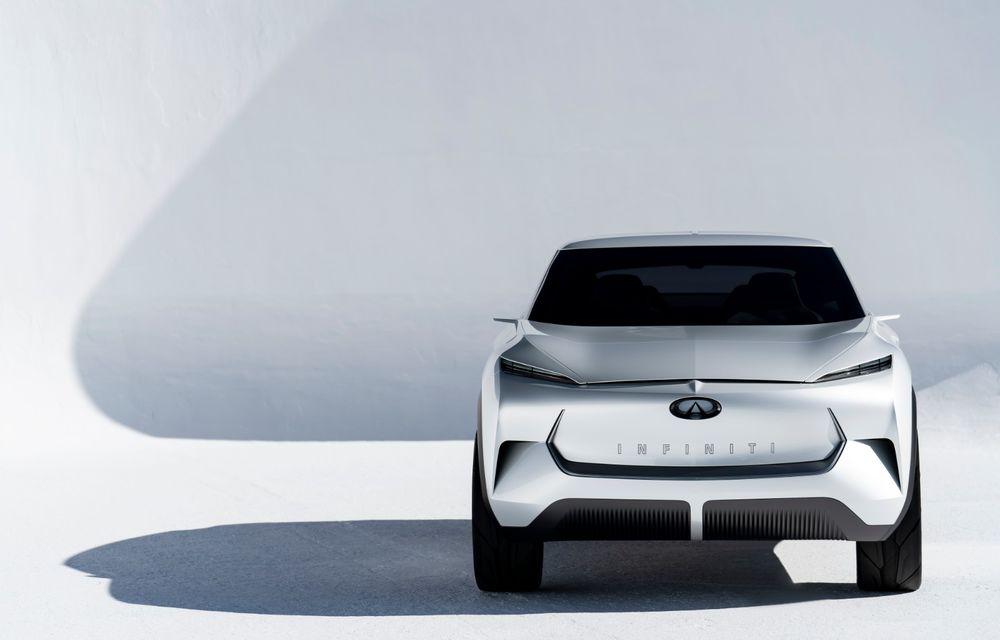 Noi imagini oficiale cu Infiniti QX Inspiration: conceptul prefigurează lansarea unui crossover electric - Poza 8