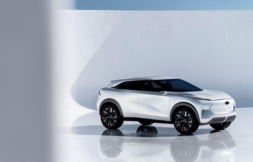 Noi imagini oficiale cu Infiniti QX Inspiration: conceptul prefigurează lansarea unui crossover electric - Poza 5