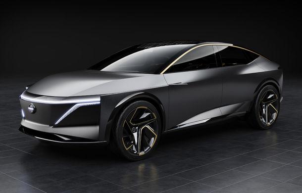 Nissan IMs: conceptul electric cu autonomie de peste 600 de kilometri anticipează un sedan sportiv - Poza 1
