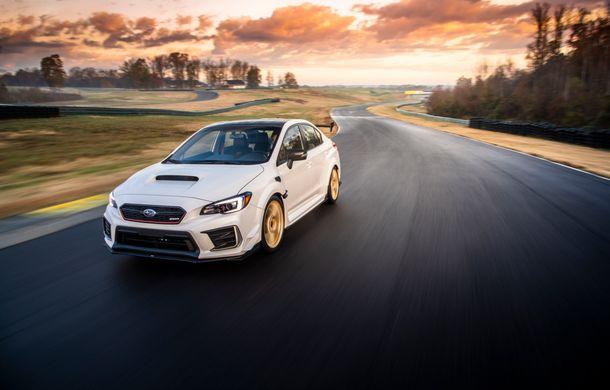Cel mai puternic Subaru de serie a debutat la Detroit: STI S209 are 341 CP și va fi produs exclusiv pentru piața din SUA - Poza 6